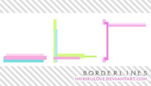 Icon Textures: Border Lines by shirirul0ve