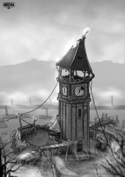 Ponyville Clock Tower by Mozgan
