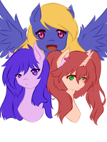 Kagome Oc's (Work in Progress) by Shiningstarlight14