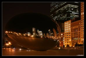 Cloud Gate by Limaria