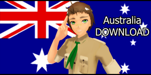 . MMD - Australia - DOWNLOAD . by Majikaru-Rin
