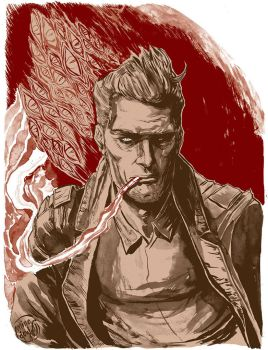 John Constantine by mysteryming