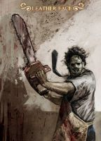 Leatherface by Grandfailure