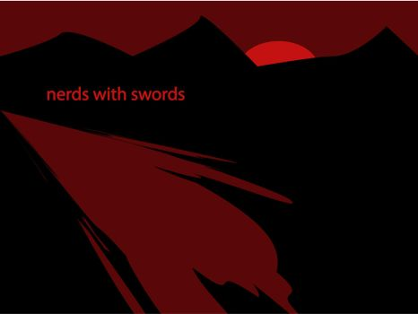 Nerds With Swords III by Grains-Redsand