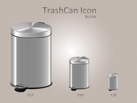 Trashcan icon by usk