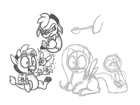 Baby Discord Doodles by Mickeymonster