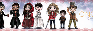 Book Mark Once Upon A Time by maruna-sama