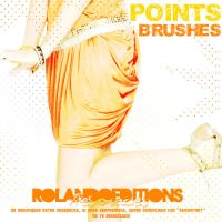 BRUShES: POiNtS by RolandoEditions