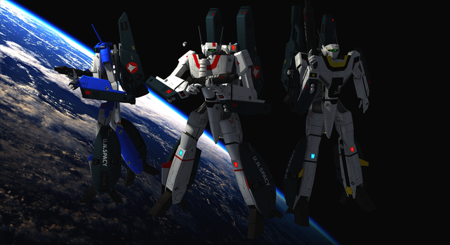 Vf-1-A-J-S With Fast Packs by PcTenchi