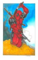 Deadpool by DKHindelang