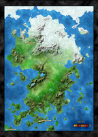 Fibonnaci Fantasy Continent by Shadom86