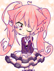 .:Semi-Chibi Milk:. [Contest] by Kayla-OneeChan