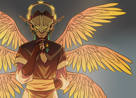OC: Angelic by Mad-Mustache