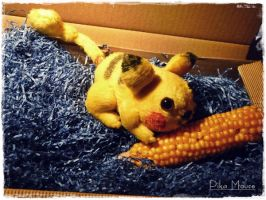Pika Mouse by Plushbox