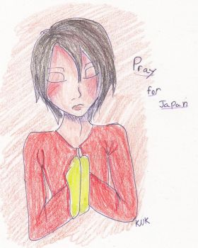 Pray for Japan by KNK88