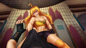 CG Commission- Practice with Yang by ARSONicARTZ