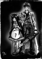 Portrait of a Father and Daughter by TheGasMaster4381