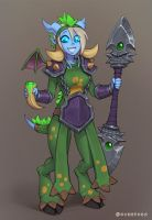 Draecember 20th - Wearing a costume by Zeon-in-a-tree