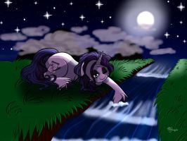 Calming Waters by Blumydia