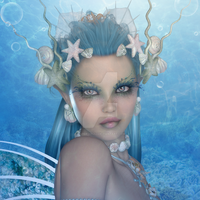 Portrait of a Mermaid by CaperGirl42