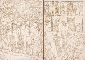 OLD DOUBLE PENCIL 1-2 pages by toniinfante