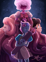 A Single Pale Rose by GreatPeace