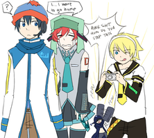 South Park x Vocaloid by azngirlLH