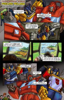 FEELING YELLOW by Transformers-Mosaic