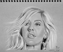 Ellie Goulding by Sabine-S-Art