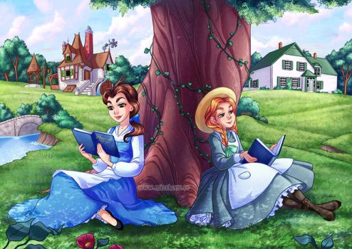 Belle and Anne by HollyBell