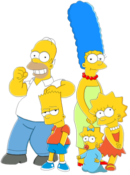 The Simpsons by MollyKetty