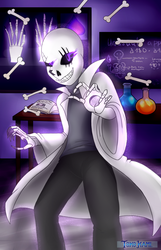 Undertale OC Hass!Gaster - Commission by TokoKami