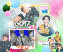 GOT7 | 7 TO 7 PRESENT EDITION | PACK PNG by KoreanGallery
