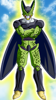 Cell in the Flash by Ninja-Master-Tommy