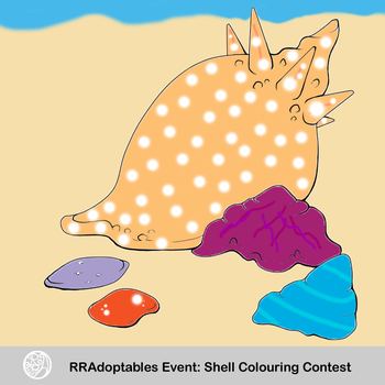 RRA: Shell Colouring Contest by Mew248