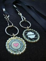 Portal Lanyards by Monostache