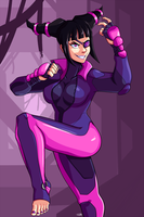 Juri Street Fighter by TCullenDA