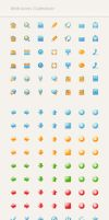 Rainbow Web Icons Collection by AnnaLitvinuk