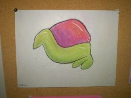 Snail with Feet by hotcheeto89