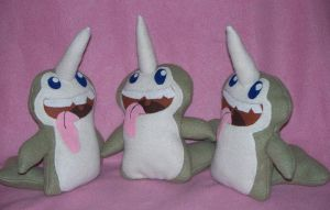Narwhals Narwhals by PlushWorkshop