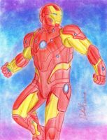 Iron Man (Comics version - Bleeding Edge Armor) by danielcamilo