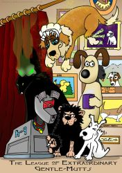 The League of Extraordinary Gentle-Mutts by AMarsReject