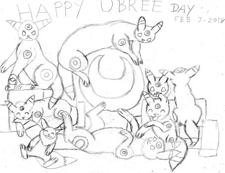 Happy Umbree Day (sketch) by Firox-Fox