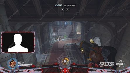Talon Sombra  (Black Version) - Stream Overlay