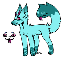 Monster Dog Adopt - CLOSED by Blithe-Adopts