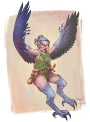Harpy by Whiksers