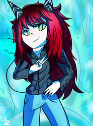 Jeya the devil Queen [Contest entry] by NavyFairy123