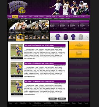 Western Illinois University Athletics: For Sale by Henchman3