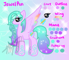 Jewel Pen Reference by JHsane