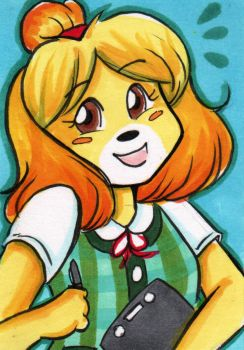 Isabelle by starlinehodge